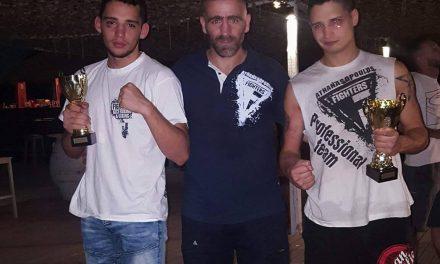Δυνατή Εμφάνιση των Fighters Athanasopoulos στο Versus
