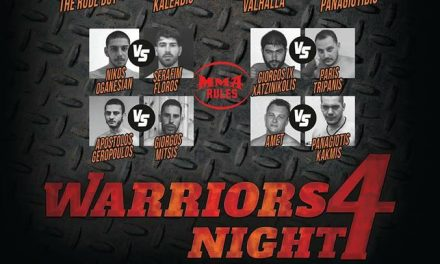WARRIORS NIGHT 4- 23 SEPTEMBER 2017