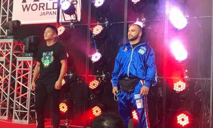 Παρακολουθείστε σε live streaming τον αγώνα του Σταύρου Εξακουστίδη στο Κ1 της Ιαπωνίας