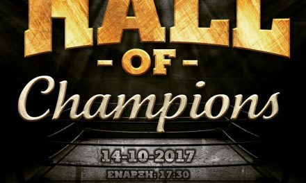 HALL OF CHAMPIONS-14 October 2017