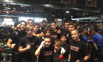 Με τεράστια επιτυχία διεξήχθησαν χθες τα προπονητικά sparrings των Fighters Athanasopoulos.