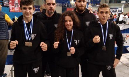 Διακρίσεις των Fighters Athanasopoulos στο Πανελλήνιο Πρωτάθλημα κάτω των 18