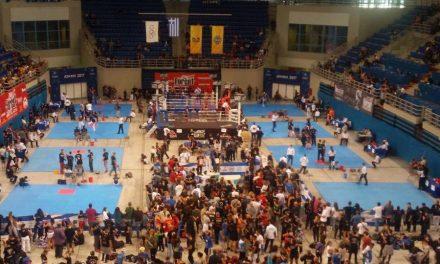 Πανελλήνιο πρωτάθλημα kick boxing κάτω των 18.