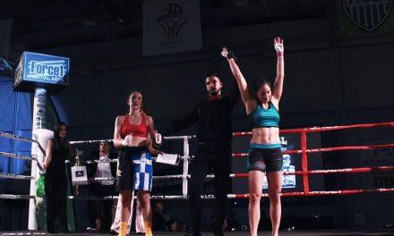 Νίκη της Χριστίνας Χάρις Στελλίου απέναντι στην Εμμανουέλα Φακουκάκη στο χθεσινό Hall of Champions (vid)