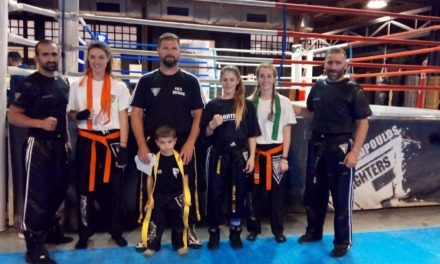 Αναβάθμιση ζωνών Fighters Athanasopoulos