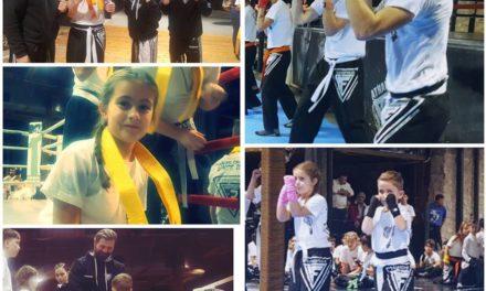 Αναβάθμιση ζωνών kick boxing-Fighters Athanasopoulos