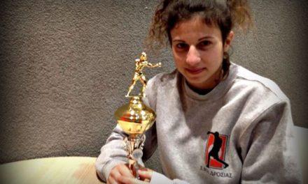 Η Πυγμάχος Κατερίνα Κουτσογεωργοπούλου στην Σερβία