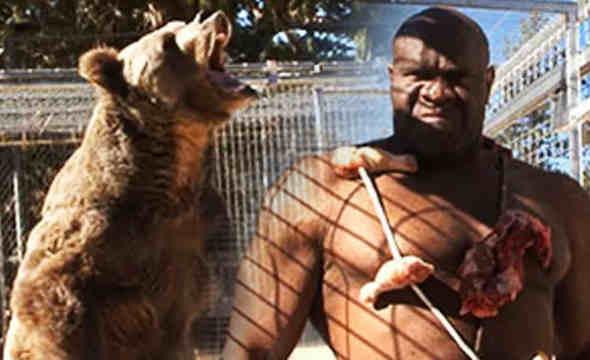 Ο Bobb Sapp Προκαλεί….Μία Αρκούδα!!!