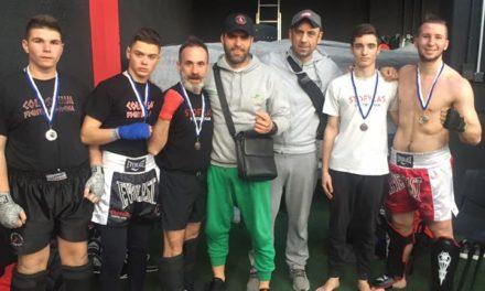 Φιλικά sparring Φεβρουαρίου Fighters Athanasopoulos