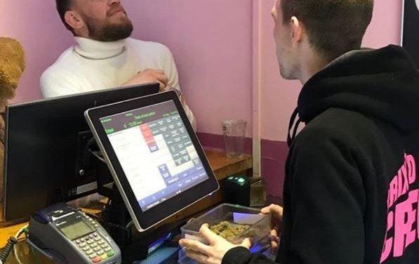 Επισκέφθηκε Coffee Shop Ο McGregor