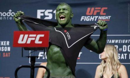 O Hulk είχε ανάγκη την… οζονοθεραπεία!