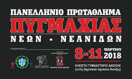 Πανελλήνιο πρωτάθλημα πυγμαχίας Νέων – Νεανίδων