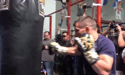 Δείτε μια προπόνηση του Λοματσένκο (video)
