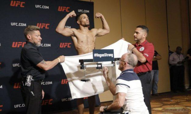 UFC Fight Night 128: Δεν έπιασε τα κιλά ο Λι για τον αγώνα του με τον Μπαρμπόσα