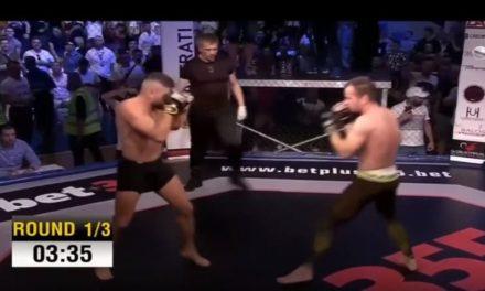Μεγάλη νίκη με νοκ-άουτ στον πρώτο γύρο για τον Μάρκου (video)