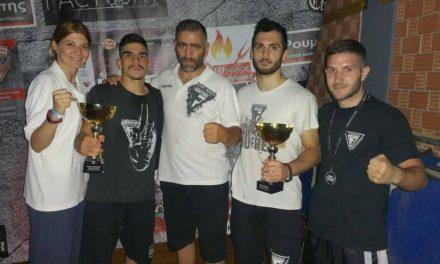 Δύο νίκες με KO για τους Fighters στο Open Championship!