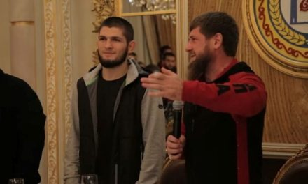Ο δικτάτοράς της Τσετσενίας έκανε δώρο λιμουζίνα στον Νουρμαγκομέντοφ