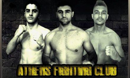 Με τρεις αθλητές το Athens Fighting Club στο Champions Night 57