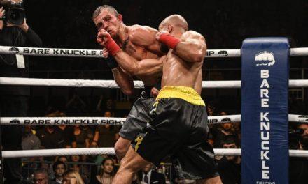Bear Knuckle Fight: Ο Λόμποφ νίκησε τον Νάιτ μετά από μια αιματηρή μάχη