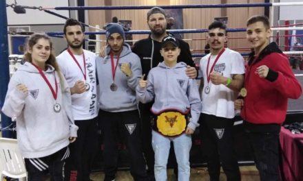 Τη ζώνη ο Μπαγιάν – Καλές εμφανίσεις από τους Fighters στην Κύπρο