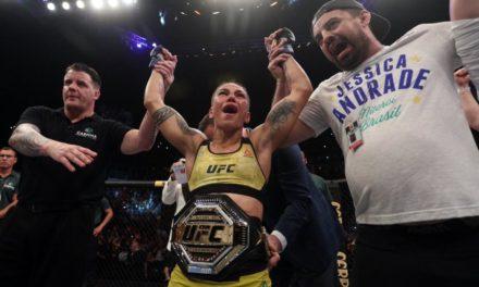 Σοκαριστικό τελείωμα στο χθεσινό UFC – Γλίτωσε σοβαρότατο τραυματισμό η Ναμαγιούνας (video)