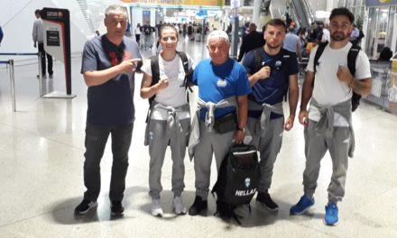 Αναχώρησε η Ελληνική αποστολή για την Ευρωπαϊκή Ολυμπιάδα του Μινσκ