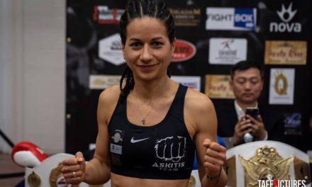 Η Λιάνα Χαμηλοθώρη ήταν η μεγάλη νικήτρια του main event του Urban Fighters 8