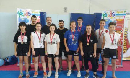 Δυναμική η εμφάνιση των Fighters Athanasopoulos στο kids open 2019