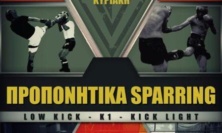 21 Ιουλίου τα διασυλλογικά προπονητικά sparring των Fighters Athanasopoulos