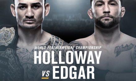 UFC 240: Holloway εναντίον Edgar