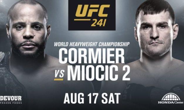 UFC 241: Daniel Cormier εναντίον Stipe Miocic 2