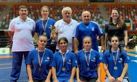 Σάρωσαν οι Έλληνες Παλαιστές στο Βαλκανικό Πρωτάθλημα