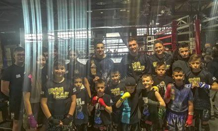 Μεγάλη συμμετοχή από το Iron Team Αγίας Βαρβάρας στα Διασυλλογικά των Fighters Athanasopoulos