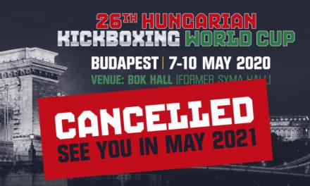 Ακυρώθηκε το Hungarian World Cup!