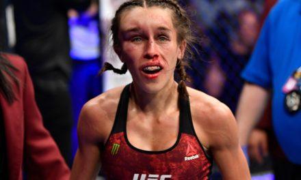 Το πρόσωπο της Joanna μια εβδομάδα μετά το UFC 248