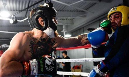 Tα sparring του McGregor (vid)