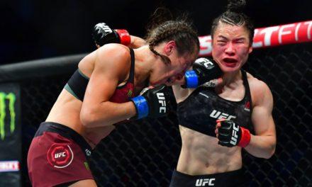 UFC 248: Zhang vs Joanna