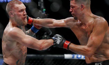 Το πρώτο match McGregor vs Diaz (VID)
