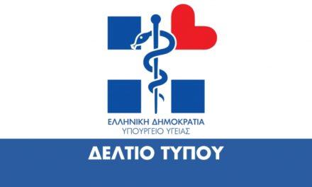 Οδηγίες του Υπουργείου Υγείας για Αθλητές, Προπονητές και Αθλητικές Εγκαταστάσεις