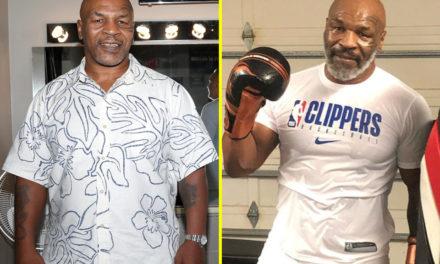 O Mike Tyson επέστρεψε!