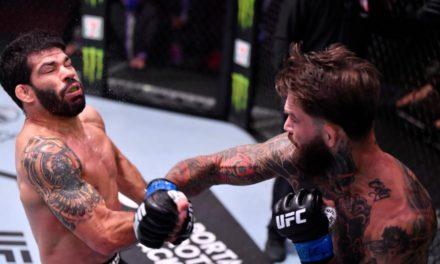 Cody Garbrandt με Buzzer Beater knockout (VID)