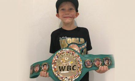 WBC Πρωταθλητής ο εξάχρονος ήρωας!