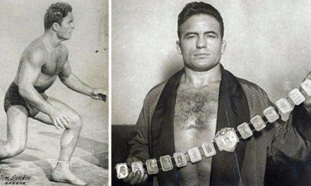 Ο πρώτος Έλληνας super star επαγγελματικής πάλης