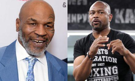 Δείτε το πόστερ μάχης Tyson εναντίον Jones