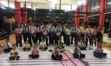 Επιτυχημένη η αναβάθμιση ζωνών για τους FIGHTERS Athanasopoulos Παλλήνης