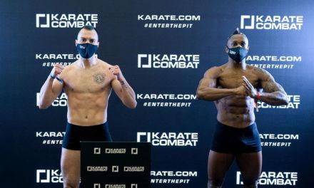 """Λίγες ώρες πριν τον αγώνα του """"The Greek Freak"""" Νίκου Γιδάκου στο Karate Combat"""