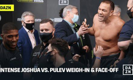 Ένταση και γιουχαρίσματα στο Face Off του Joshua με Pulev