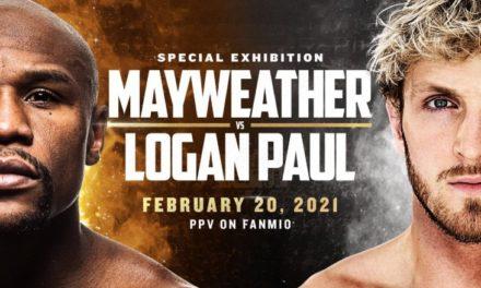 Αναβάλλεται το MayWeather – Logan Paul