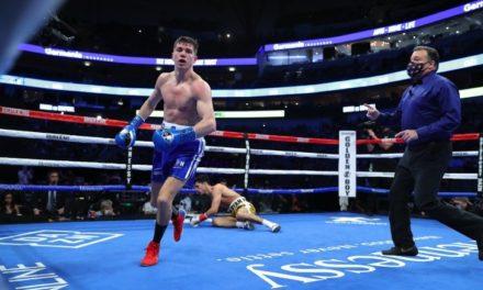 Νίκη χωρίς να κυριαρχήσει στο ρινγκ για τον Ryan Garcia επί του Luke Campbell