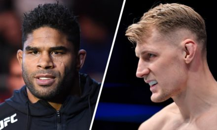 "UFC Vegas 18: Δύο Ηeavyweights Έτοιμοι για Όλα"""
